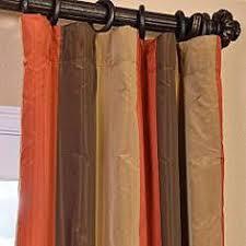 Silk Plaid Drapes Knotts Landing Taffeta Silk Plaid Curtains U0026 Drapes Half Price
