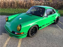 1973 porsche 911 rs for sale 1973 porsche 911 rs rs 14 768 viper green coupe 2 8