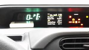 how to reset toyota prius c maintenance required youtube