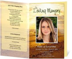 funeral program covers funeral programs funeral handouts programs for funerals
