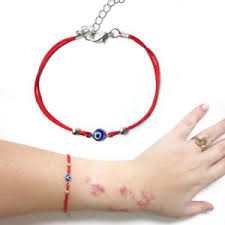 string red bracelet images Evil eye red string kabbalah bracelet mati nazar bead good luck jpg