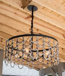 horseshoe decorations for home horseshoe chandelier yes please for the home