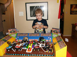 Support Blog For Moms Of Boys Jack U0027s Monster Jam 4th Birthday Party