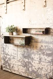 creative design metal wall shelves awe inspiring of 2 wood and