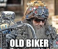 Biker Meme - old biker vieux motard meme on memegen