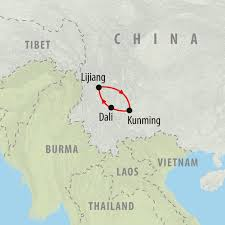 Kunming China Map by Yunnan Experience 8 Day Private Tour On The Go Tours