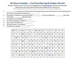 printable word search worksheets image of sweden worksheet free earth science printable word search