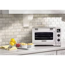 kitchenaid toaster oven kitcheaid 12 convection toaster oven stainless steel toasters