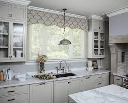 Fabric Window Shades by Rod Mounted Valances Are Great As A Stand Alone Window Treatment
