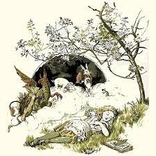 alice chapter 1 rabbit hole storynory