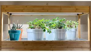 what is the best lighting for growing indoor growing vegetables indoors led grow lights gardeners