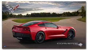 2014 corvette colors c7 corvette poster chevymall