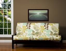 Futon Arm Covers Furniture Charming Arm Futon Sofa Bed Two Drawers Storage Black