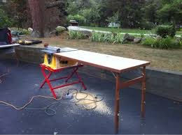 Folding Table Saw Stand Dewalt Folding Table Saw Stand Home Design Ideas