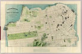 Maps San Francisco by Sanborn Maps San Francisco Michigan Map