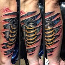 3d biomechanical tattoos at hand tattoo ideas kmxwtattoo