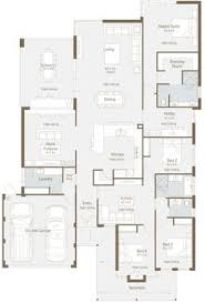 large family floor plans u shaped 5 bedroom family home floor plans