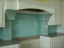 kitchen green glass mosaic tiles beach tile backsplash blue and