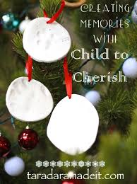 make the easiest handprint ornament in the world child to cherish