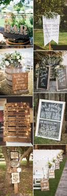 wedding signs diy pretty budget friendly wedding decorating ideas 30 easy to do