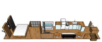 Skoolie Floor Plan Busbus Floor Plans Versions 1 U2013 3 2 U2013 The Adventures Of Busbus
