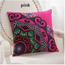 vendre canapé coussin de fleurs de style ethnique géométriques coussins du canapé