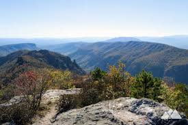 table rock hiking trail table rock mountain top hikes in linville gorge nc asheville trails