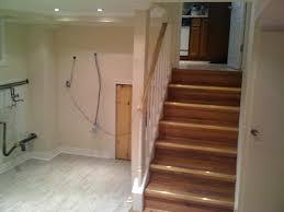 nice steps to finishing a basement stairs basements ideas
