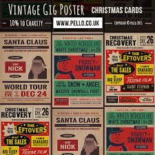 2015 christmas cards retro posters star wars u0026 baking music