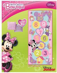 Amazon Com Minnie Mouse Hopscotch Game Rug Kitchen U0026 Dining