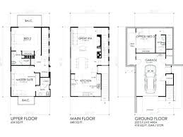 small house floor plans cottage contemporary cottage house plans small modern loft floor plans