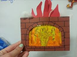 shadrach meshach and abednego in the fiery furnace craft daniel