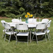 Pvc Pipe Patio Furniture - round folding table 72