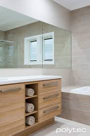Fitted Bathroom Ideas Vanity In Ravine Natural Oak Kitchens Polytec Borg