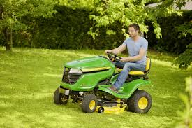 new john deere lawn tractor is easier to use