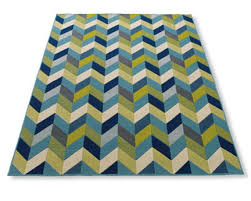 Blue And Green Outdoor Rug Grandin Road Navy Lime Blue Green White Chevron Rug Via Room Fu