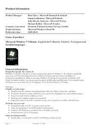Resume Template Windows 7 free microsoft resume templates 2015 word sle format in