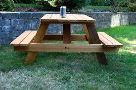 Kids Wooden Picnic Table Kids Wood Picnic Table U2013 Seattle Cedar