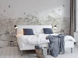 tapisserie chambre adulte un papier peint noir et blanc pour un mur élégant décoration