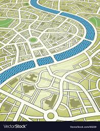 City Map City Map Royalty Free Vector Image Vectorstock