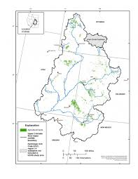 Map Of The Colorado River by Mapping Agricultural Lands And Irrigation Type In The Upper