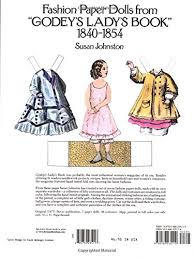 godey s s book for sale fashion paper dolls from godey s s book 1840 1854 dover