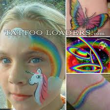 rainbow bright tattoos tattoo loaders tattoo designs tribal