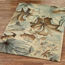 tropical area rugs leaf wool u2013 home design and decor