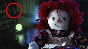 raggedy ann doll thrown poltergeist activity in haunted house