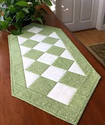 sage green table runner classic traditional sage green quilted patchwork table runner so