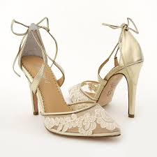 wedding shoes gold gold wedding shoes lace bridal shoes