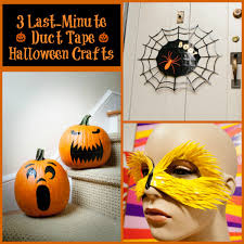 halloween duct tape three last minute halloween duct tape projects your kids will love