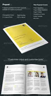 Indesign Template Free Deck 48 Best Business Proposal Templates In Indesign Psd U0026 Ms Word