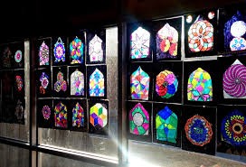 Lesson Plan Islamic Stained Glass Windows Artful Artsy Amy